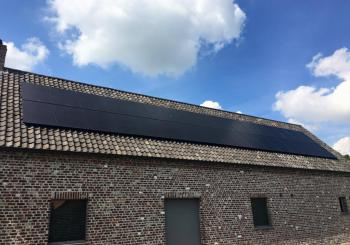 sunpower, x serie, 335wp, full black zonnepanelen